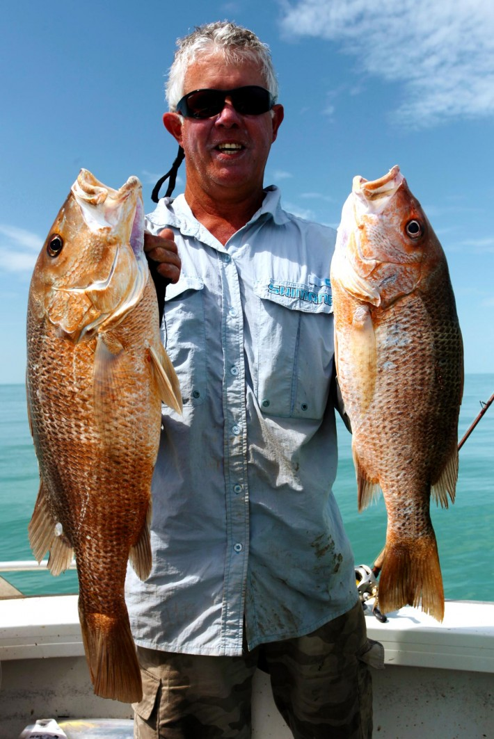 A couple of nice golden snappers